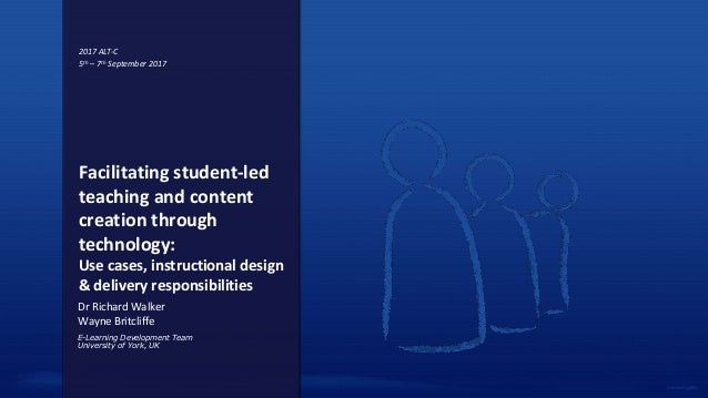 Facilitating Student Led Teaching And Content Creation Through Techno