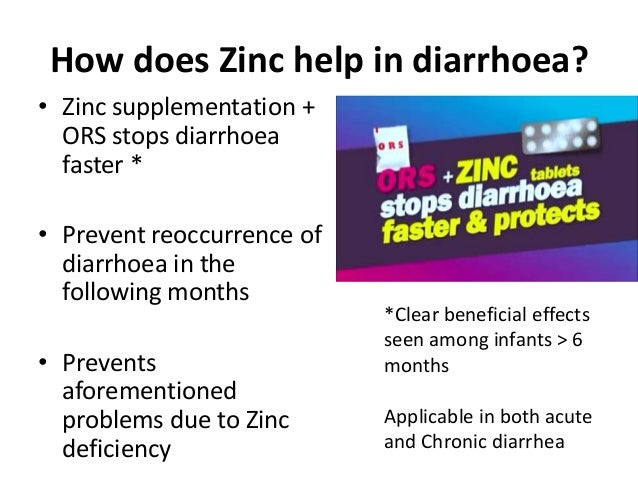 Zinc In Treatment Of Diarrhoea In Children