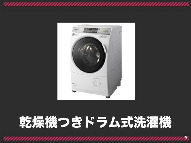 乾燥機つきドラム式洗濯機 72