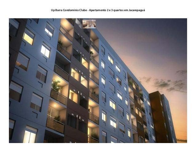 Up Barra Condomínio Clube - Apartamento 2 e 3 quartos em Jacarepaguá