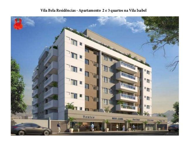 Vila Bela Residências - Apartamento 2 e 3 quartos na Vila Isabel