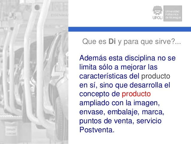 Up Dsp S1 Importancia Del Dise O Industrial