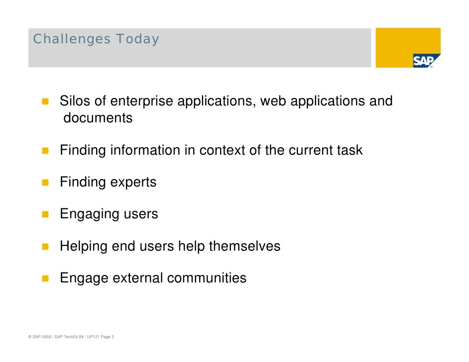 The Future of your Desktop - Trends in Enterprise Mash-Up, Collaboration and Social Networking Slide 3