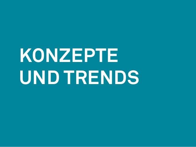 Konzepte  Und Trends