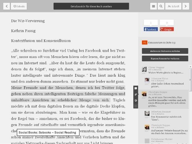 Social Books: Sobooks – Social Reading