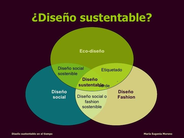 dise o sustentable en el tiempo