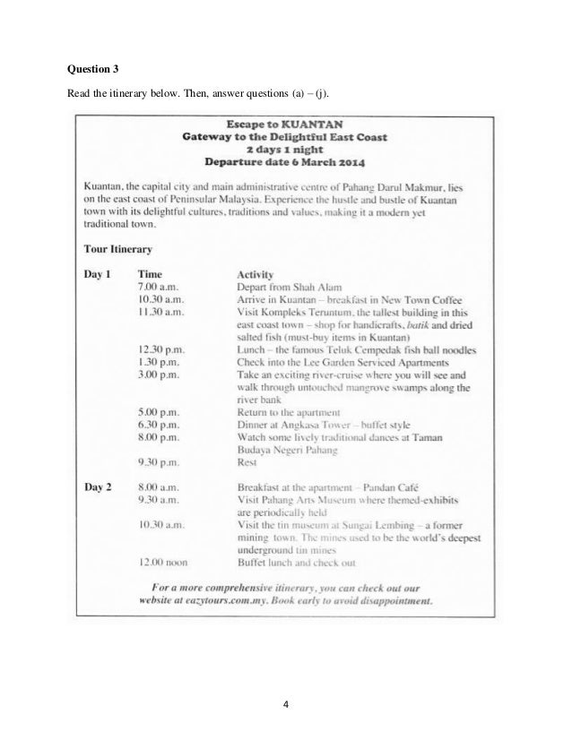 Jsu Spm (Paper 2) English