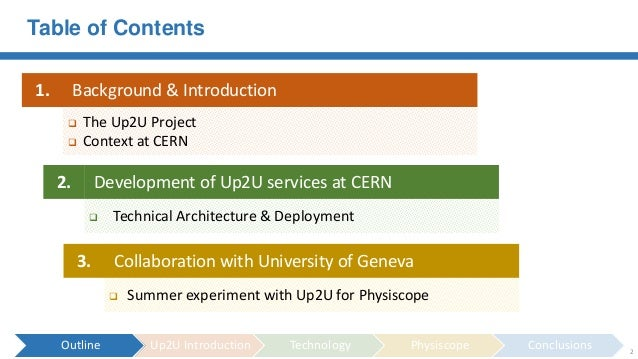 Cloud Services for Education - HNSciCloud applied to the UP2U project Slide 2