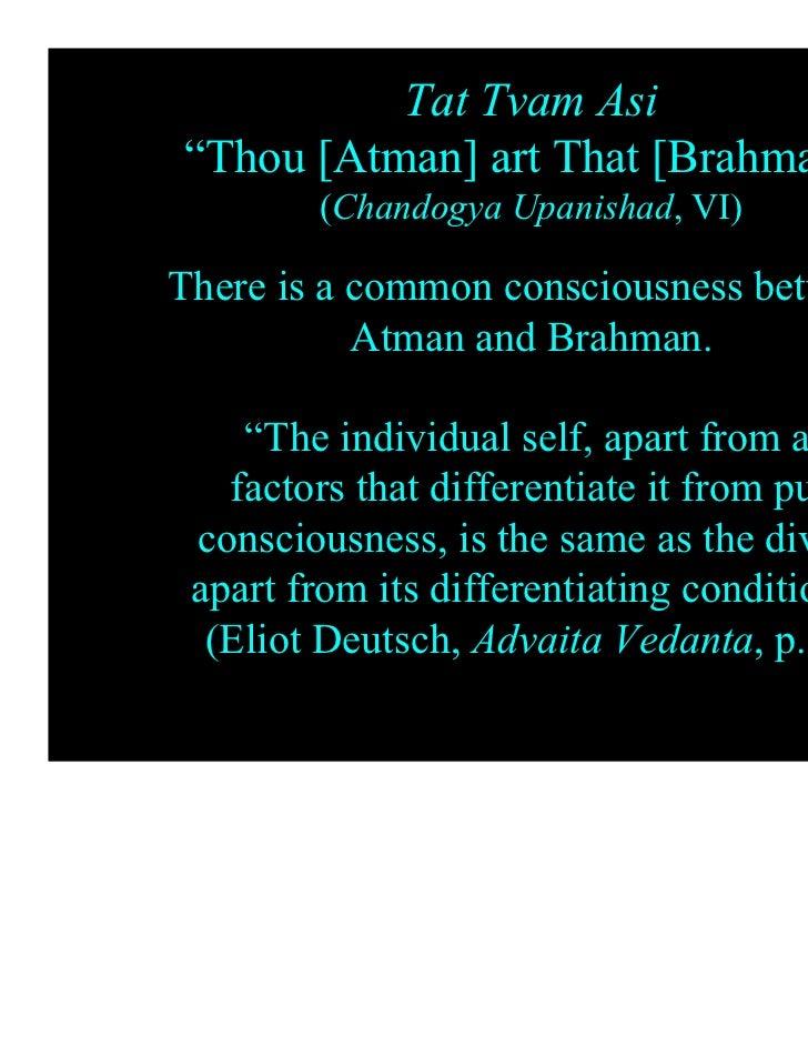 relationship between atman brahman upanishads quotes