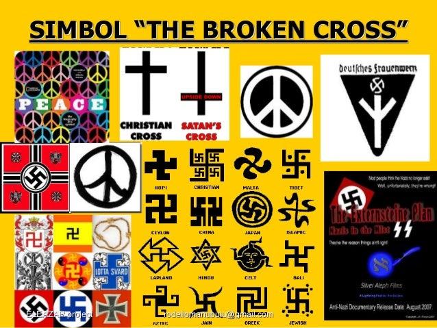 """SIMBOL """"THE BROKEN CROSS"""" ELEAZAR project rodeliomanubulu@gmail.com"""