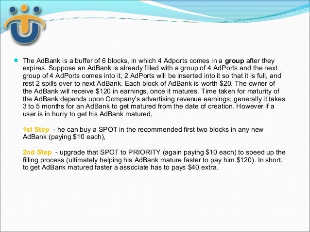  The AdBank is a buffer of 6 blocks, in which 4 Adports comes in a group after they  expires. Suppose an AdBank is alread...