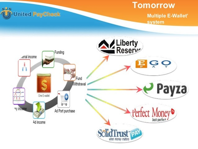 Tomorrow  Multiple E-Wallet'  system
