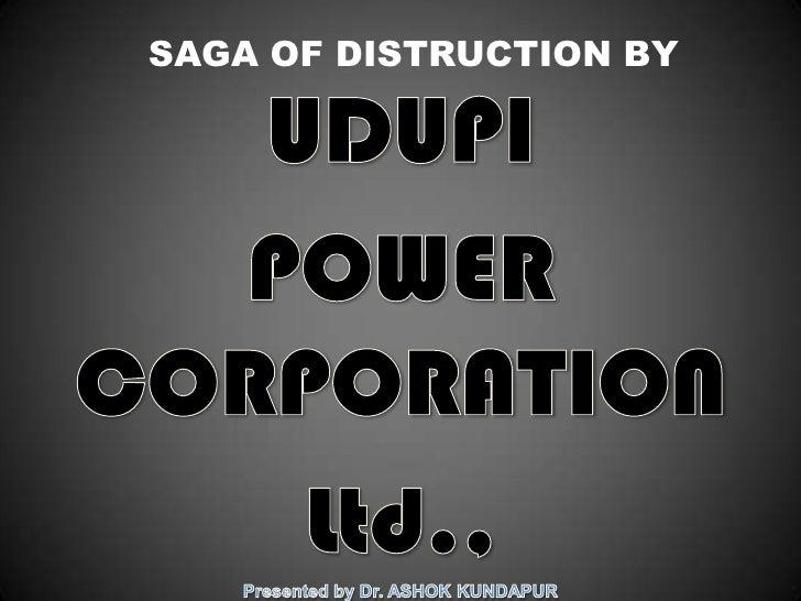 SAGA OF DISTRUCTION BY