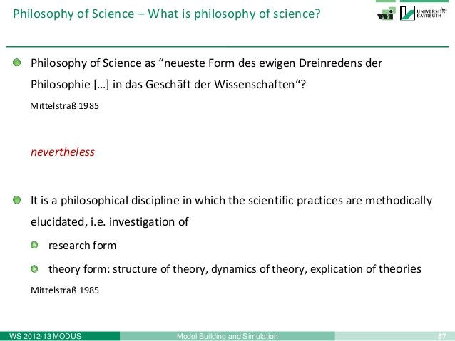59Model Building and SimulationWS 2012-13 MODUSPhilosophy of Science – Part 1 - Summary(classical)empiricism(historical)po...