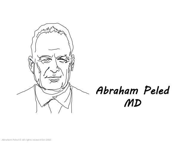 Abraham Peled MD Abraham Peled © All rights resaved Oct 2015