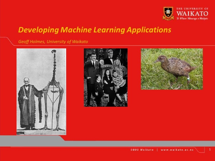 machine learning developer