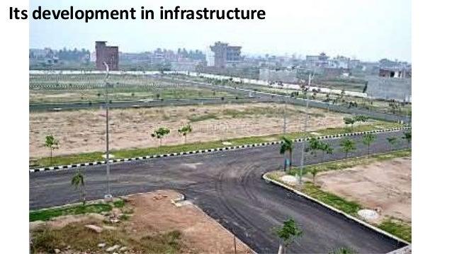 Its development in infrastructure