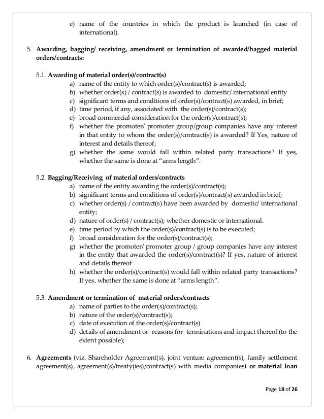 Discussion Paper On Review Of Clause 36 And Related Clauses Of Equity