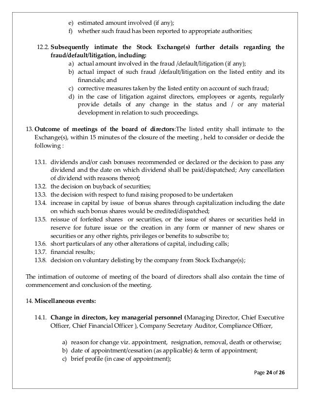 Discussion paper on review of clause 36 and related clauses of equity 24 platinumwayz