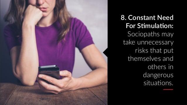 11 Signs Of Hookup A Sociopath