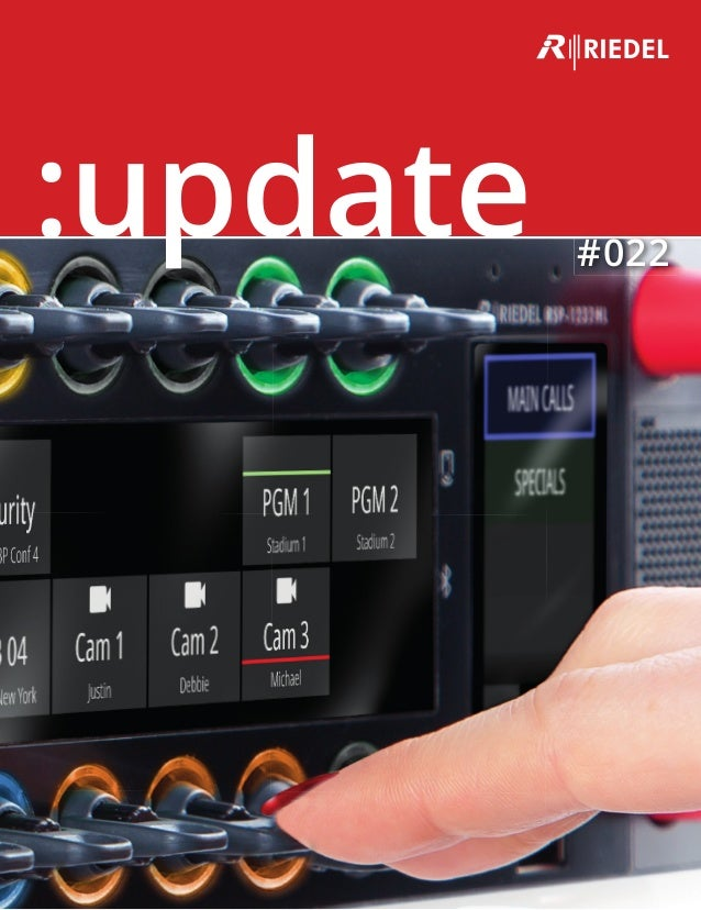 riedel communications update brochure no 22 (april 2018)Riedel Headset Wiring Diagram #4