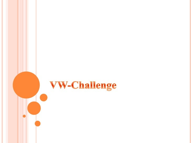 VW-Challenge<br />