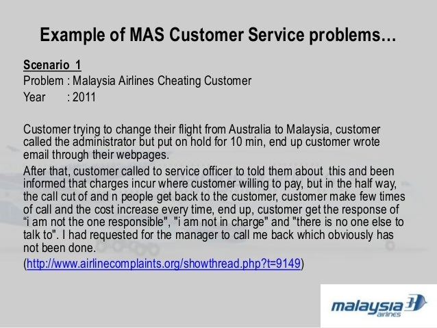 ethical issues of malaysia airlines service Read our code of ethics policy which sets clear  your local whistle-blowing service  or the sage group are not exposed to any potential ethical issues.