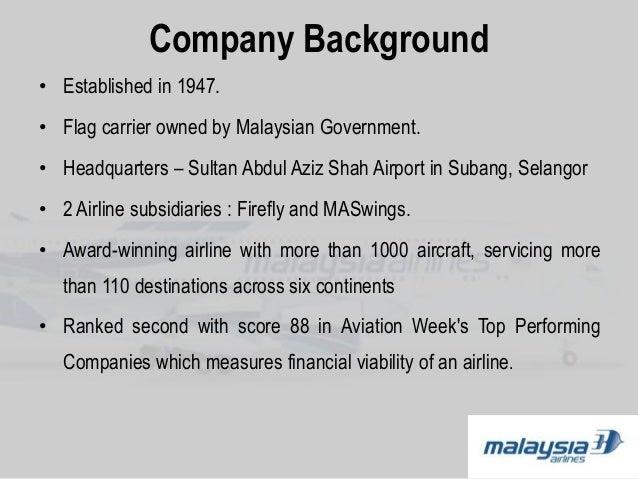 malaysia airlines slideshare