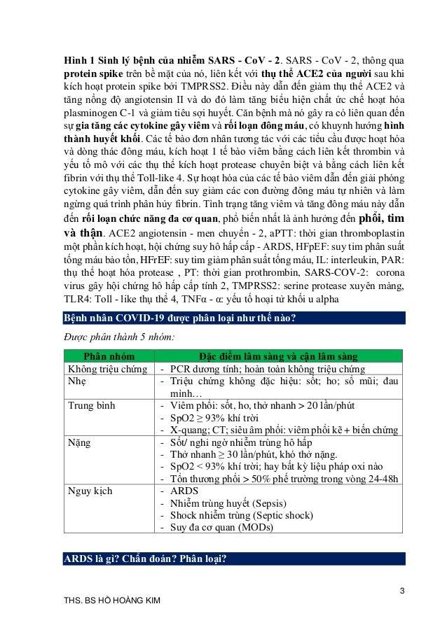 Update 29   8 sổ tay điều trị và hồi sức covid 19 Slide 3