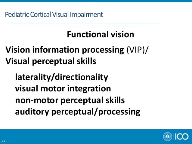 Aao Pediatric Cortical Visual Impairment