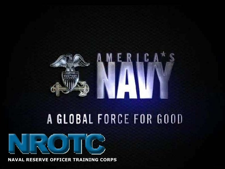NAVAL RESERVE OFFICER TRAINING CORPS