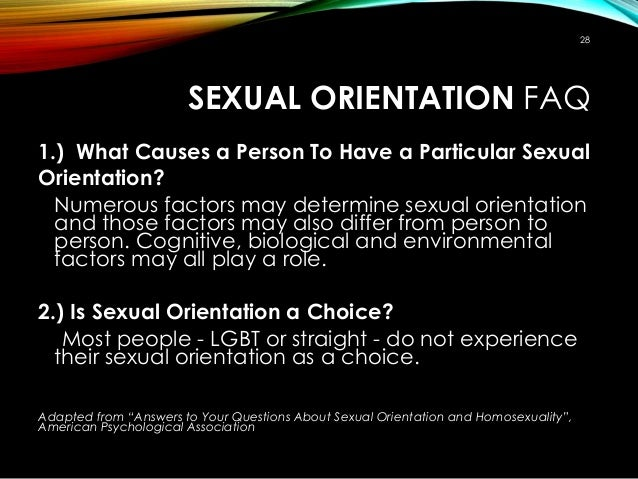 Is sexual orientation a choice Nude Photos 20