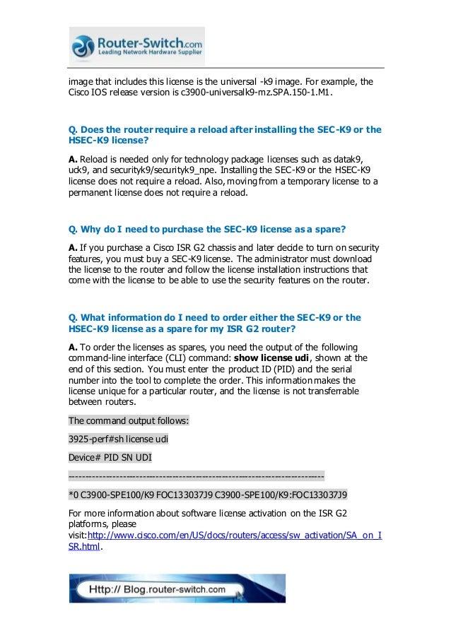 Cisco isr g2 ssl vpn license