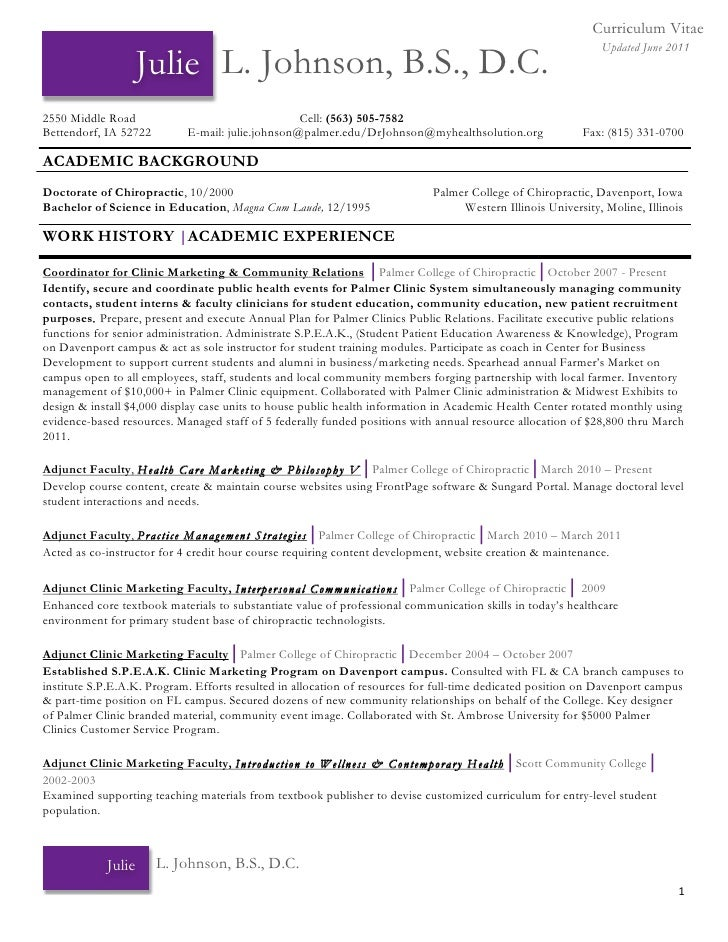 Chiropractic Resume. Well Suited Ideas Resume Receptionist 12