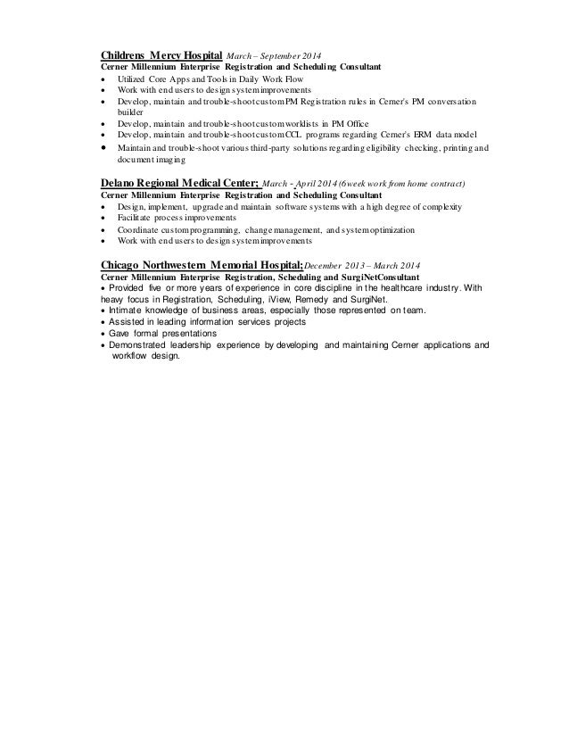 beautiful cerner consultant resume images simple resume office