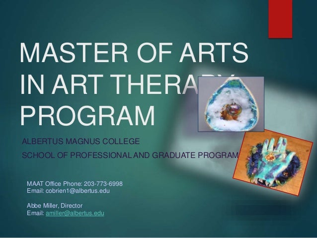 Master Of Arts In Art Therapy Program