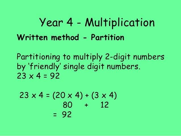 KS2 Maths Info Evening 2016 – Ks2 Grid Method Multiplication Worksheet