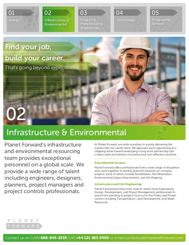 Contact us on (USA) 888-845-2539 (UK) +44 121 663 0490 or email contactus@theplanetforward.com Planet Forward's infrastruc...