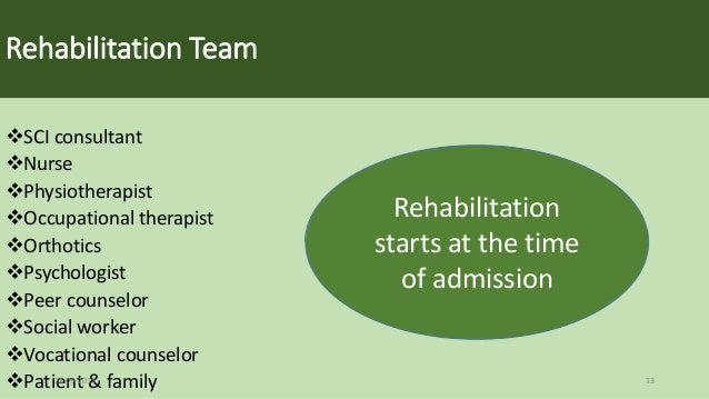the relation of the length of treatment to a patients rehabilitation success Cognitive rehabilitation therapy for traumatic brain injury: evaluating the evidence washington, dc: the national academies press doi: 1017226/13220  and set appropriate goals for treatment success  one form of treatment for tbi is cognitive rehabilitation therapy (crt), a patient-specific, goal-oriented approach to help patients.