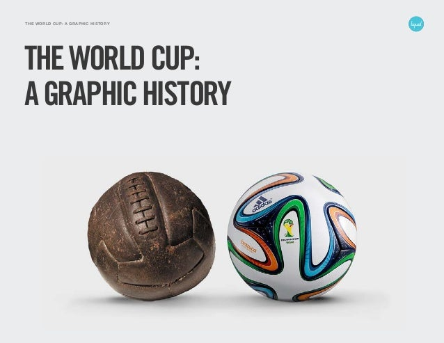 1LIQUID AGENCY THE WORLD CUP: A GRAPHIC HISTORY THEWORLDCUP: AGRAPHICHISTORY
