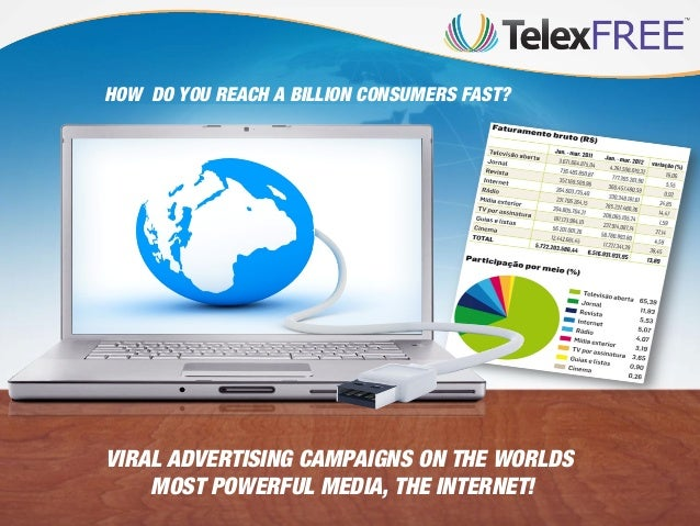 HOW DO YOU REACH A BILLION CONSUMERS FAST?  VIRAL ADVERTISING CAMPAIGNS ON THE WORLDS MOST POWERFUL MEDIA, THE INTERNET!