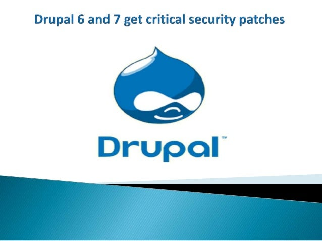 Drupal has released new updates for its series 6 and 7; update versions are namely 6.37 and 7.39. The open source CMS has ...