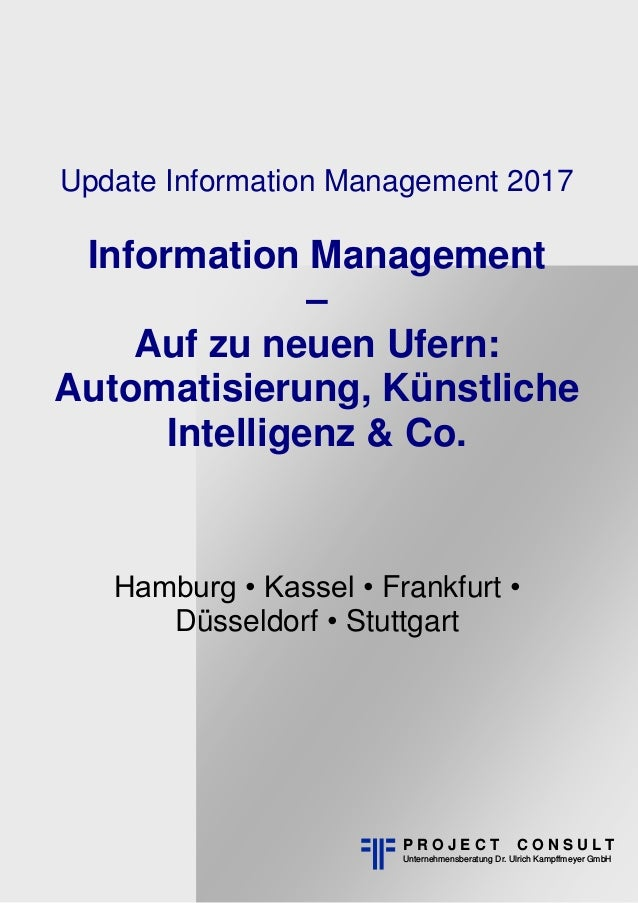 Hinweis: Buchlayout P R O J E C T C O N S U L T Unternehmensberatung Dr. Ulrich Kampffmeyer GmbH Hamburg • Kassel • Frankf...