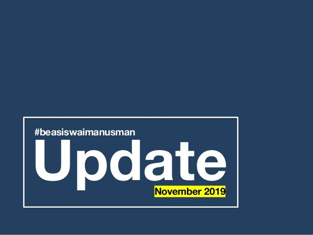 Update #beasiswaimanusman November 2019