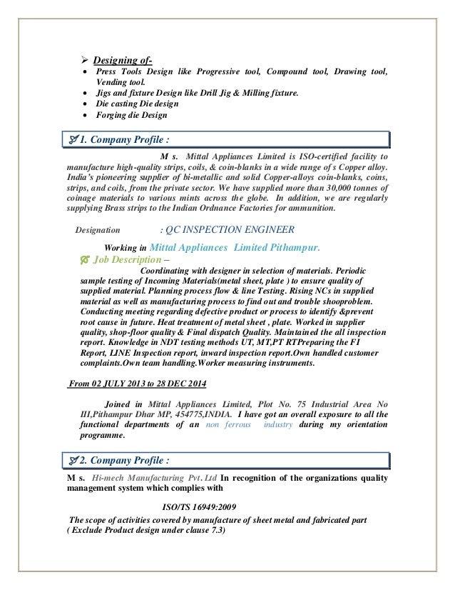 resume tooling engineer plastic industry jobs in saudi