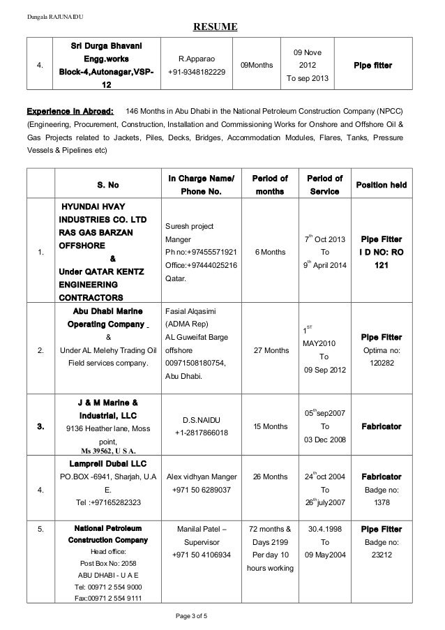 up date resume 26