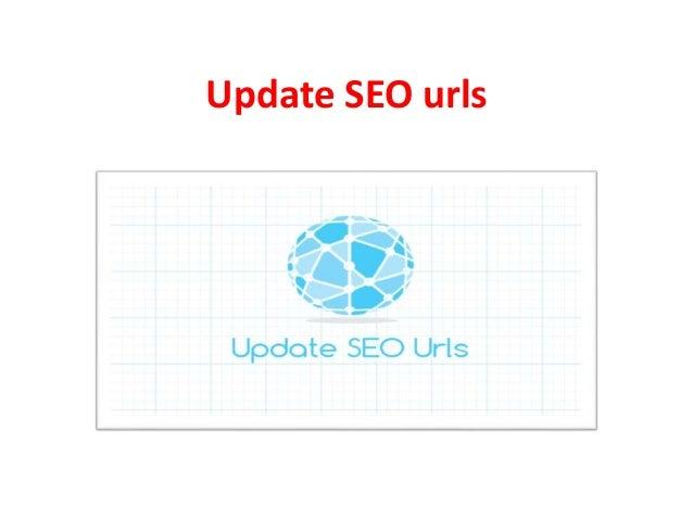 Update SEO urls