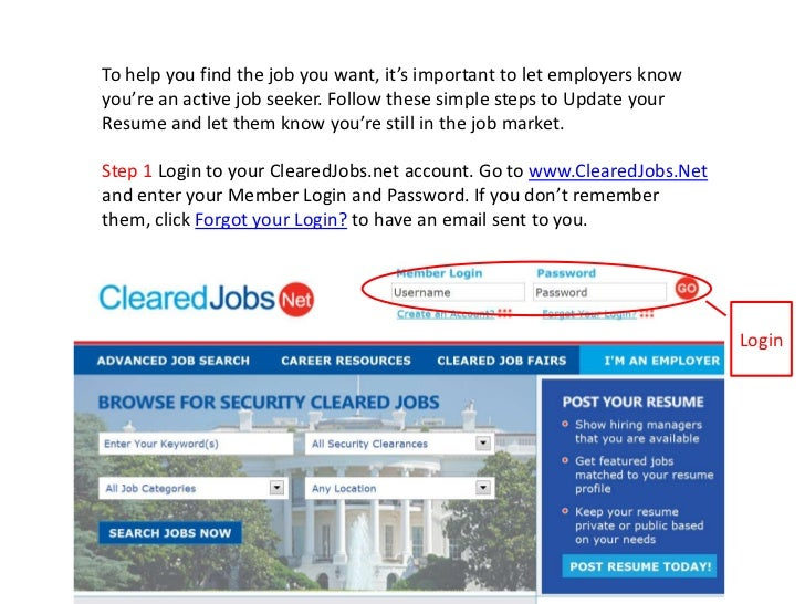 To help you find the job you want, it's important to let employers know you're an active job seeker. Follow these simple s...