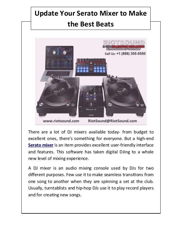Riotsound com: Serato - Mixers / DJ Equipment: Musical