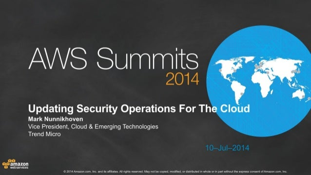 Updating Security Operations for the Cloud